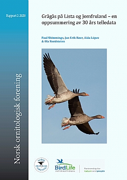 Report published in Norwegian by the Norwegian Ornithological Society